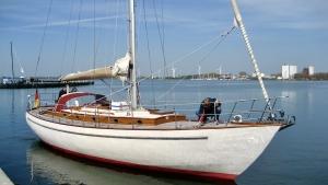 Foto zum Verkaufsangebot der 39 Fuss Alu-Yacht